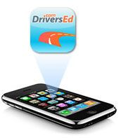 The DriversEd iPhone app is a lifesaver for students who are a bit overwhelmed (or just plain bored) with the idea of sitting down and reading the driver's manual.  You can download your state's manual inside the app, and it will give you fun quizzes, and pretests (up to 350 questions) to help prepare your student for their driver's permit test.  A fun way to study!