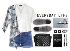 """Everyday Life"" by jafashions ❤ liked on Polyvore featuring Topshop, BLANKNYC, Aéropostale, Superga, MICHAEL Michael Kors, Givenchy, Robert Lee Morris, BackToSchool, shoes and newshoes"