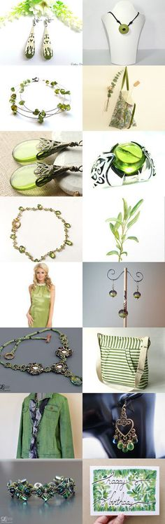 Peridot Color of Day Pantone 22 May 2016 by Guilaine Grémy on Etsy--Pinned+with+TreasuryPin.com