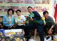 Bank Sampah Melati Bersih: Kunjungan Tamu dari Mahasiswa Binus Alam Sutera Juni, Baseball Cards, Sports, Hs Sports, Sport
