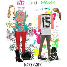 Liv and Maddie inspired outfits I would wear Maddie's