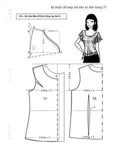 Easy Sewing Patterns Clothing Patterns Dress Patterns Pattern Fashion Sewing Hacks Sewing Crafts Sewing Projects Make Your Own Clothes Top Pattern Blouse Pattern Free, Blouse Patterns, Clothing Patterns, Top Pattern, Sewing Sleeves, Sewing Blouses, Make Your Own Clothes, Easy Sewing Patterns, Fashion Sewing