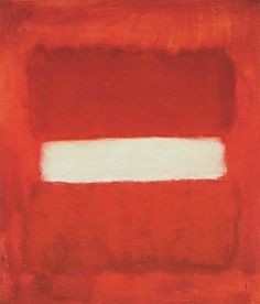 Mark Rothko White Center