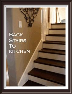 Back Stairs To Spare Room