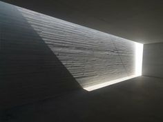 Skylight along Wall to Deliver a Sliver of Natural Light to Interior or Underground Places