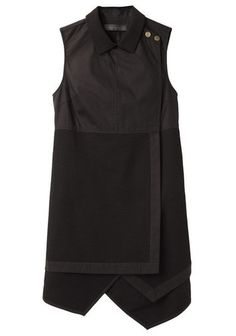 Proenza Schouler | Sleeveless Asymmetrical Shirtdress | La Garçonne