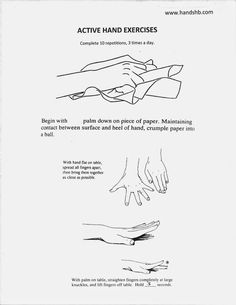 HB Hands: Active Hand Exercises