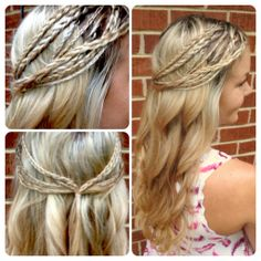 Best plait and braid hairstyles is the first in a series of 10 hairstyle features that will be a compendium of everything you need to show your hairdresser what you want. Or be inspired to try out different hairstyles at home. #braid #plait #hairstyles