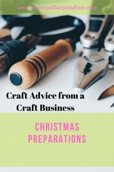 Get your craft business prepared for Christmas and be ahead of the festive rush #Christmas #festive #claireyfairymakes Selling Crafts Online, Craft Online, Business Goals, Business Advice, Business Education, Business Management, Business Branding, Business Names, Online Business