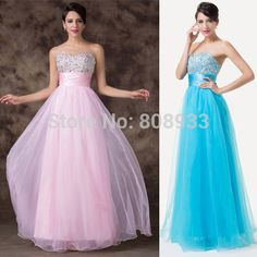Free Shipping Grace Karin Sexy Stock Strapless Sweetheart Beaded Sequins Party  Gown Prom Ball Evening Dress 8 Size CL4011 b0a0646d2b40