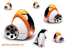 Inspiration in work - Gentoo concept car by C.Rameshkanth