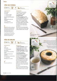 Revista outubro 2012 so receitas Happy Foods, Low Fodmap, Cantaloupe, Toast, Food And Drink, Bread, Chocolate, Fruit, Sweet