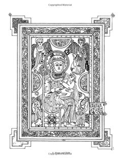 book of kells colouring page   Found on doverpublications.com   Kids ...