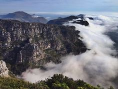Nothing Prettier than the clouds on Table Mountain!   #TableMountain #CapeTown #Kapstadt #Südafrika #SouthAfrica #Afrika #Nature #Landscape #Outdoor #Mountains #Fog #Clouds #Photography #View #Travel #Travelling #Traveling #Tourism #Vacation #Holiday