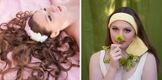 Ombre-feather-headband-and-knitted-headband