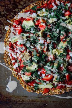 Raw Vegan Pizza