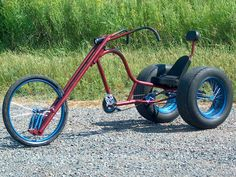 ator phat ass chopper trike is a laid back and cool cruiser that takes things to the extreme with extended springer forks and a set of massive rear Tricycle Bike, Trike Bicycle, Trike Motorcycle, Motorcycle Style, Indian Motorcycles, Triumph Motorcycles, Drift Trike Frame, Bike Frame, Ducati
