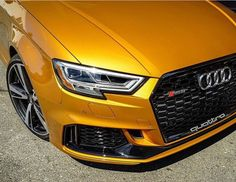 This is a very 'shiny' RS3 sedan. Black optics seems to be a perfect combination with this #orangeaudi color New RS3 sedan - 400hp - 5 cylinders - pearl @benmosesphoto ---- oooo #audidriven - what else ---- . . . . #Audi #RS3 #newRS3 #orangeRS3 #AudiRS3 #RS3sedan #quattro #4rings #drivenbyvorsprung #Audicolor #carsbyaudisport #audisport #orange #carporn #car #cars #carlovers #audilove #seattle #audiseattle