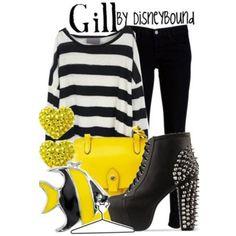 Gill by disneybound