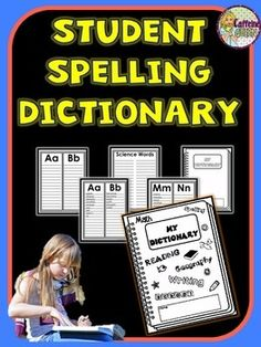 Student Spelling Dictionaries are wonderful reference resources for your students.  $