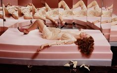 """""""Guy Bourdin was Man Ray's protégé and the spirit of the Surrealists is ever-present in his work - evident in the dream-like quality of some photos and in the artist's use of uncanny juxtapositions. Moreover, he cleverly fused a very European aesthetic with that of the post-war Pop culture of the west coast, USA. Other..."""" =