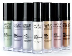 Speciale Primer #2: Make Up For Ever Professional HD Primer. One different solution for each skin tone