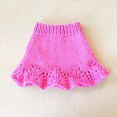 Ravelry: Deily's Lacy Flouncy Skirt for American Girl Doll