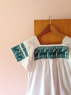 1960s LITTLE BOHEMIAN embroidered peasant shirt by mikasasucasa, $22.00