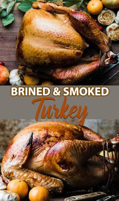 Brined Smoked Turkey Recipe Brined Smoked Turkey Recipe - Learn the absolute best most flavorful way to prepare a turkey by making this delicious Brined Smoked Turkey Recipe. Smoked Turkey Brine, Bbq Turkey, Tailgating Recipes, Grilling Recipes, Traeger Recipes, Barbecue Recipes, Barbecue Sauce, Preparing A Turkey, Smoking Recipes