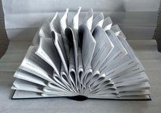 Boek Art Sculpture Grey van abadova op Etsy