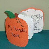 Preschool Pumpkins Activities and Crafts | KidsSoup
