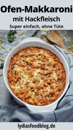 Rice Recipes, Pasta Recipes, Dinner Recipes, Pasta Casserole, Family Meals, Macaroni And Cheese, Easy Meals, Food And Drink, Pesto