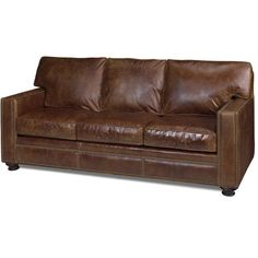 Living Room Furniture-Quality Furniture-Leather Genuine Leather Sofa, Brown Leather, Custom Couches, Leather Living Room Furniture, Leather Loveseat, Back Pillow, Living Room Sets, Quality Furniture, Seat Cushions