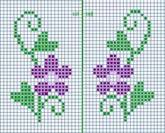 Tiny Cross Stitch, Xmas Cross Stitch, Cross Stitch Bookmarks, Cross Stitch Borders, Cross Stitch Alphabet, Cross Stitch Flowers, Cross Stitch Designs, Cross Stitching, Cross Stitch Patterns