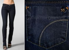 Joe's Jeans Mulholland Cigarette Straight Leg Low Rise Stretch Jean 28 (31x30) #JoesJeans #StraightLeg