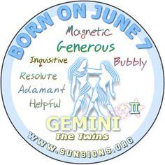 Image result for june 7 zodiac