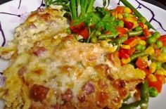 Sajttal tejföllel sült csirkemell | Receptkirály.hu I Am Always Hungry, Eastern European Recipes, Baked Chicken Breast, Chicken Breasts, Hungarian Recipes, My Recipes, Lasagna, Poultry, Baked Potato