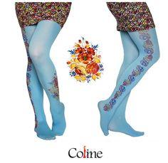 Blumen Tattoo Strumpfhosen Strumpfhosen dekorative von colinedesign, $22.90  thights