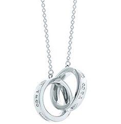 Tiffany & Co 1837 Interlocking Circles Pendant