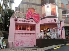 """See 1231 photos and 64 tips from 4171 visitors to Hello Kitty Cafe. """"The location lil hard to find, inside the cafe everything is pink,cute and. Kitty Cafe, Here Kitty Kitty, The Places Youll Go, Places To Go, Sanrio, My Dream, Dream Job, Four Square, To My Daughter"""