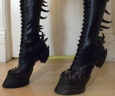 So wickedly delightful, I love these shoes! Would definitely be a conversation starter!