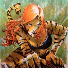 Tigra by Mike Henderson *