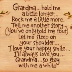 I miss you more than ever Mawmaw, and I really wish you were here to hug me one last time...