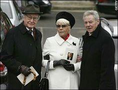 At John Inman funeral