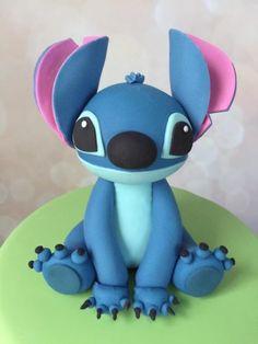 Lilo And Stitch Cake, Lilo Y Stitch, Disney Stitch, Batman Cake Topper, Minnie Mouse Cake Topper, Toy Story Cake Toppers, Toy Story Cakes, Candy Birthday Cakes, Birthday Cake Toppers