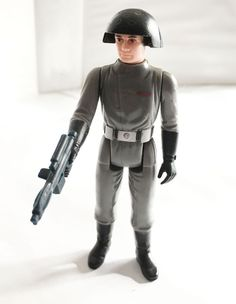 B-Wing Pilot Loose complet C8.5 repro arme star wars