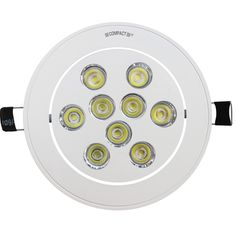 11W-Power spot LED Round 9 LED of 1W each - LED PowerSpot - LED Fixtures