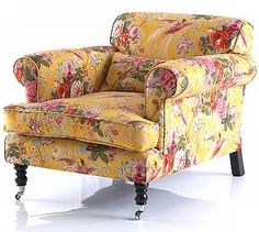 floral chair - love, love this chair