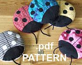 Boo-Boo Bug Ladybug hot cold Therapy pack PATTERN download or snail mail. $1.50, via Etsy.