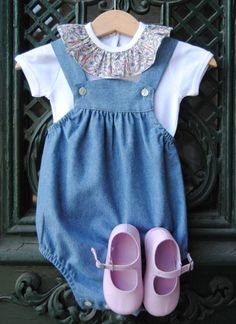 This romper is also cute for baby boys